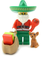 NEW LEGO MARIACHI SANTA CLAUS with Chihuahua minifigure figure minifig christmas