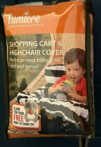 Handy Lumiere Shopping Cart and Highchair Cover 2-in-1