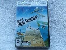 MICROSOFT FLIGHT SIMULATOR X FSX PC-DVD FAST POST ( brand new & sealed )