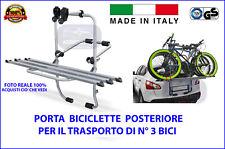 Portabici posteriore da auto 3 biciclette SUBARU Impreza (GD) dal 2000>2007