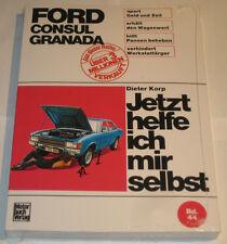 Reparaturanleitung Ford Consul + Granada Mk. I, Baujahre 1972 - 1977