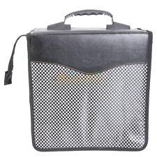 New 520 Disc Cd Dvd Holder Dj Storage Case Pvc Cd Bag Album Black #853 Us-1