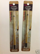2 X L'Oreal HIP Color Chrome Eyeliner Metallic Finish #920 GOLD CHARGE NEW.