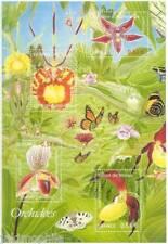 Bloc n° 81 Orchidées de 2005  NEUF ** - LUXE