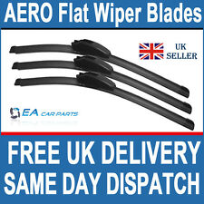 CHRYSLER VOYAGER & GRAND1996-2007 FRONT&REAR EA AERO Flat Wiper Blades 28-28-16