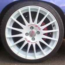 OZ Alufelgen Superturismo WRC 7 x 16  4/100 + 4/114,3 - WHITE RED LETTERING
