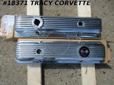 1969-1972 Chevrolet Corvette Chevelle Nova Camaro 474208 474207 Valve Cover Set4
