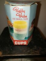 VINTAGE 1960's Betty Brite small Bake Cups W/ Contents USA