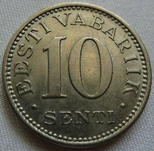 ESTONIA 10 senti 1931 UNC Quality! #AA37