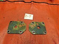 Triumph TR4A Rear Leaf Spring Plates, 2, Original, !!