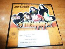 MELOPOP Corazon de papel CD ALBUM PROMO CARTON CONTIENE 12 TEMAS