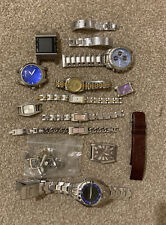 Collection Of Watches And Watch Parts Spares Or Repairs Steampunk Crafts