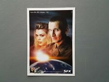 Doctor Who. 2005  Promotional Postcard. Ninth Doctor and Rose.