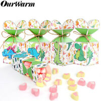 12Pcs Dinosaur Party Favor Boxes Candy Treat Bags for Birthday Party Baby Shower