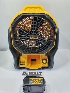 Dewalt 18v Fan + 4Ah Battery DCE511