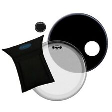 "Evans EQ3 22 ""BASS DRUM HEAD / Kick Set, sistema bd22b3 pastella, risoluzioni EQ Pad"