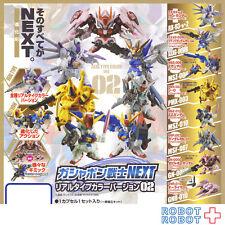 SD Gundam Next Real Type color ver. 02 x8 pcs set Gashapon mini figure Bandai