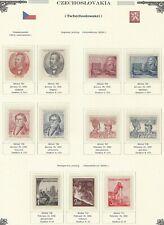 1952 Year Set, Mi. 701 - 775, MNH, Postfrisch **, (76 items)
