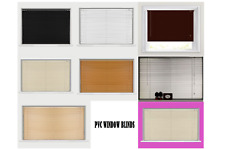 Pvc Venetian Window Blind Home Office Kitchen Wood Effect Blinds Home Easy Fit