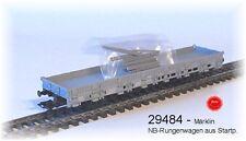 Aus Märklin 29484 EIN Rungenwagen Bauart Ks der SBB