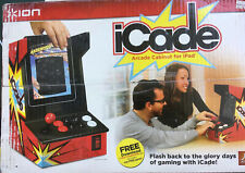 ION iCade Arcade Bluetooth Video Game Controller Cabinet for iPad Tablet