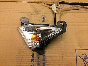 Kawasaki ZX6R Front Left Indicator 2009-2012 OEM Part 0 Miles