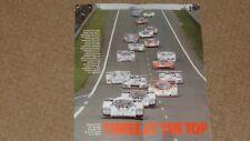 Porsche 956 Le Mans 24 Hrs Success brochure - 1982