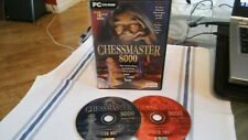 Chessmaster 8000 PC-CDROM Schachspiel-komplett 2 Disc Version