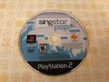 SingStar: Pop < Sony PlayStation 2, 2007 PS2 > - DISC ONLY