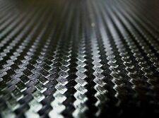 Black 3D Carbon Fibre Bubbles Free Vinyl Film Wrap Sticker Decal 3pcs 300x200mm