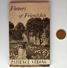 Flowers of Friendship vintage poetry book by Patience Strong popular 1950s poems