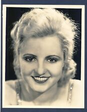 1931 CLOSE-UP PORTRAIT OF BLONDE POLLY WALTERS BY FRYER IN NEAR MINT CONDITION