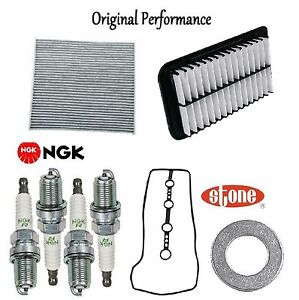 Tune Up Kit Cabin Air Filters Spark Plugs Gasket for Scion tC 2005-2009