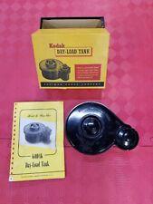 Vintage Kodak Day-Load Tank 35mm In Original Box w/ Instruction booklet