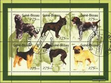 Used 2001 Bee complete Issue Guinea-bissau 1510-1515 Sheetlet