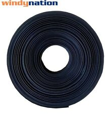 "25 FT 25' Feet BLACK 1/16""  Polyolefin 2:1 Heat Shrink Tubing"