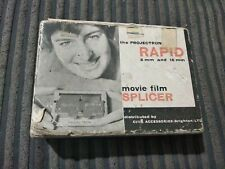 Vintage projectron rapid 8 & 16mm movie film splicer 'cine accessories brighton'