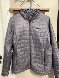 Patagonia Nano Puff Primaloft Insulated Jacket Large Women's Down Puffer Coat