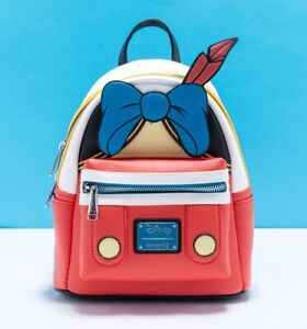 Official Loungefly Disney Pinocchio Outfit Mini Backpack