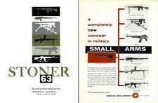 Stoner 1963 Military Small Arm - Machine Gun Catalog (M-16)