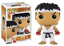 Ryu WHITE Headband STREET FIGHTER CAPCOM POP! Games #137 VINILE Funko Personaggio