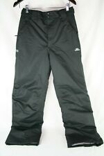 Trespass Ski Snowboard Mens Size Small Black Water Wind Proof Bezzy TP50 Pants