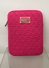 MARC BY MARC JACOBS PINK PEONIE DREAMY LOGO IPAD TABLET SLEEVE CASE NEW