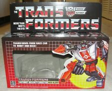 TRANSFORMERS G1 RED ALERT BOX, MANUAL, CARDBOARD BACK, INSERT, & BUBBLE NEW