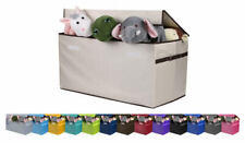 JUMBO SIZE Toy Storage Organizer Chest for Kids & Living Room, Nursery, Playroom