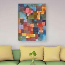 "WANDKINGS Leinwandbild Paul Klee - ""Raumarchitektur"" verschiedene Größen"