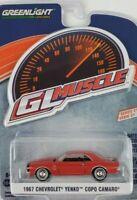 1:64 GreenLight 1967 Chevrolet Yenko Copo Camaro GL Muscle Series 21