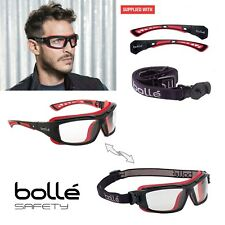BOLLE Safety Glasses ULTIM8 Goggles Tranformation Spectacles - removable temple