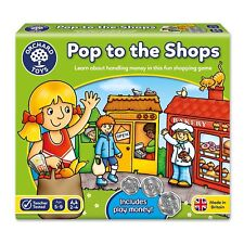 Orchard Toys - Pop to the Shops Game Family Kids Fun Dice Board Game