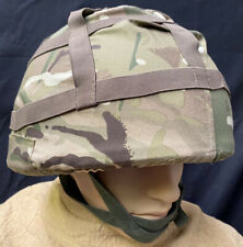 More details for british military gs mk.6 combat helmet with mtp cover
